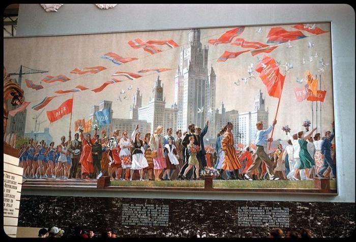 СССР на Всемирной выставке 1958 г. в Брюсселе (8 фото)