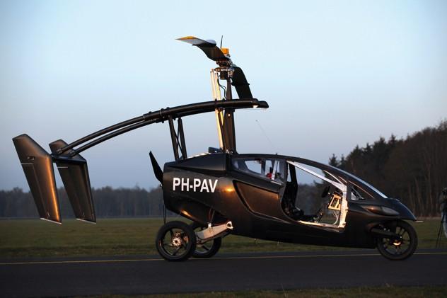 Летающие автомобили, которые существовали на самом деле (10 фото)