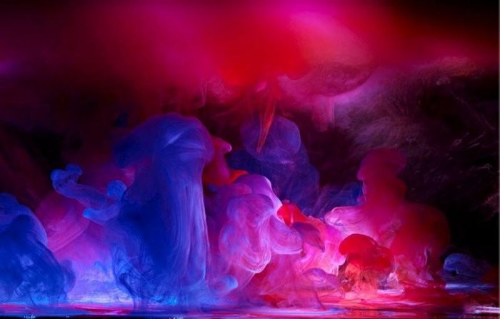 Краски и вода (10 фото)