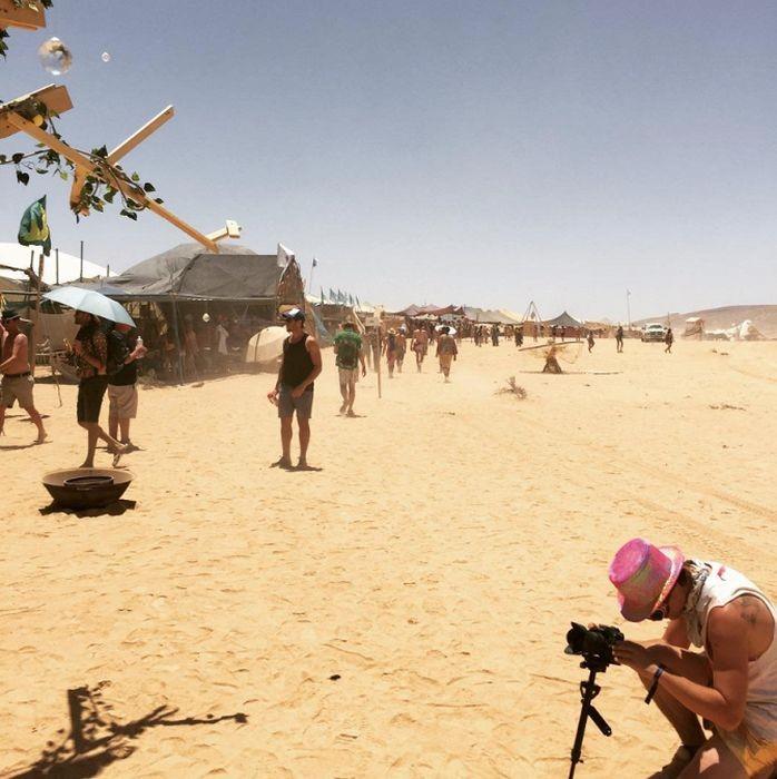 Израильский фестиваль Мидберн (20 фото)
