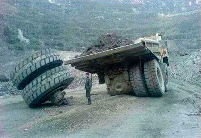 У больших машин - большие проблемы (28 фото)