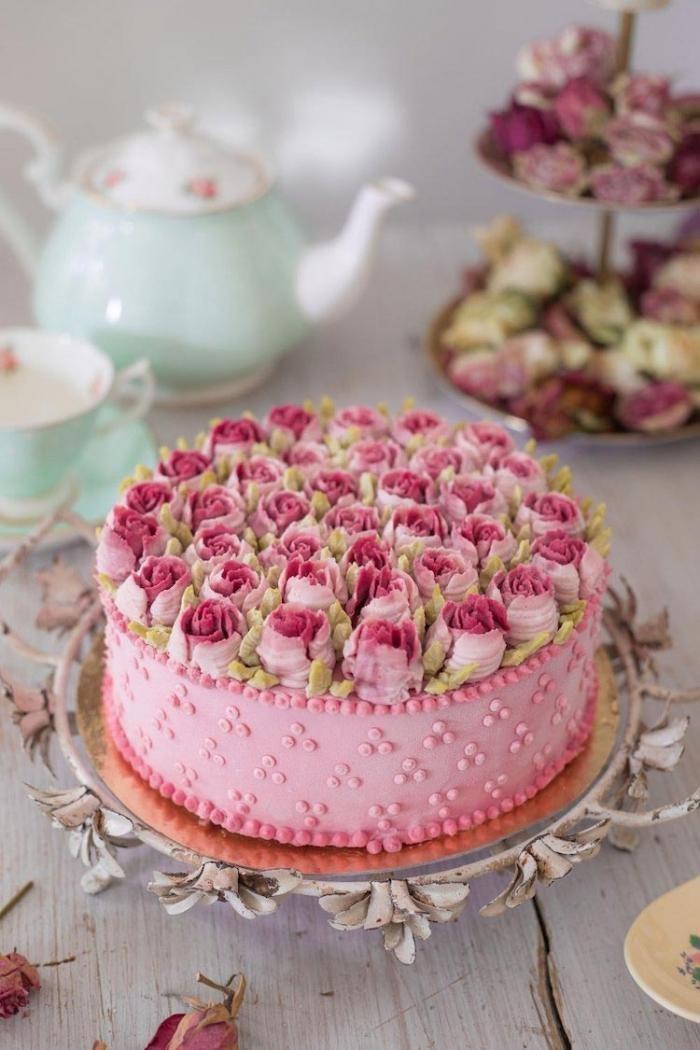Невыносимо красивые торты, без выпекания, которые больше напоминают букеты цветов (21 фото)