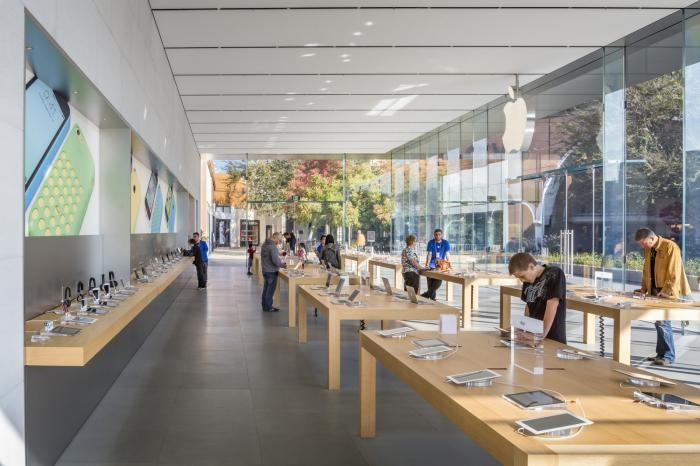 Архитектура Apple в Калифорнии (10 фото)
