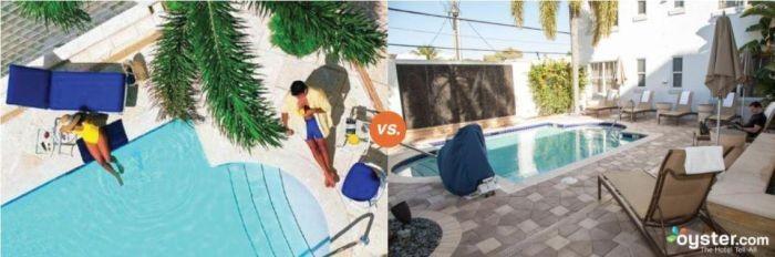 Отели на рекламных фото и в реальности (10 фото)