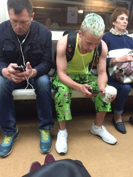 Модники российского метро (33 фото)