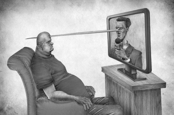 Современное общество в рисунках Аль Маргена (30 фото)