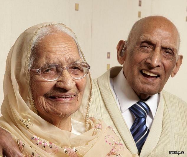 Рекорд верности – 87 лет в браке (5 фото)