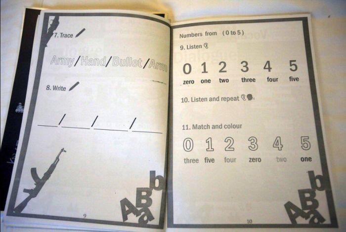 Учебник английского для детишек «Исламского государства» (5 фото)