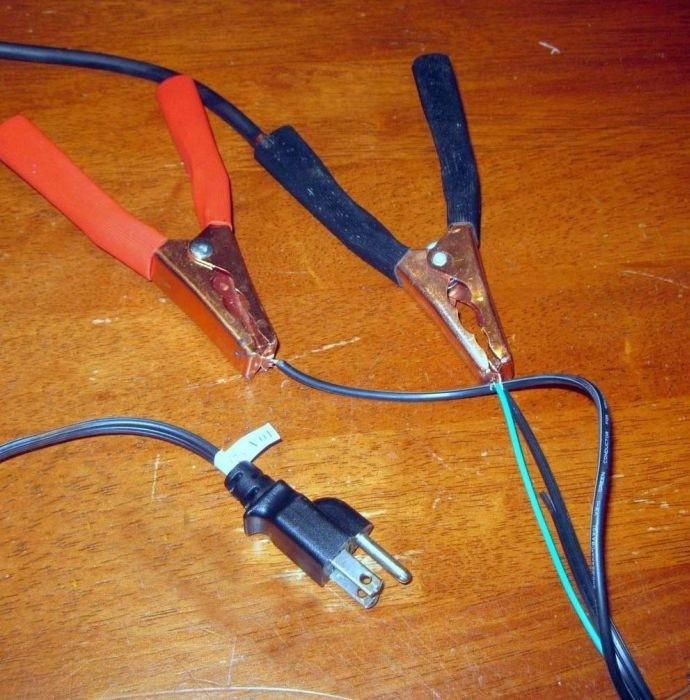 Как сделать светильник из соленого огурца (5 фото)