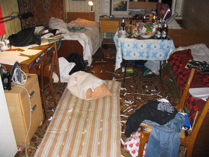 Веселая жизнь в студенческих общежитиях (31 фото)