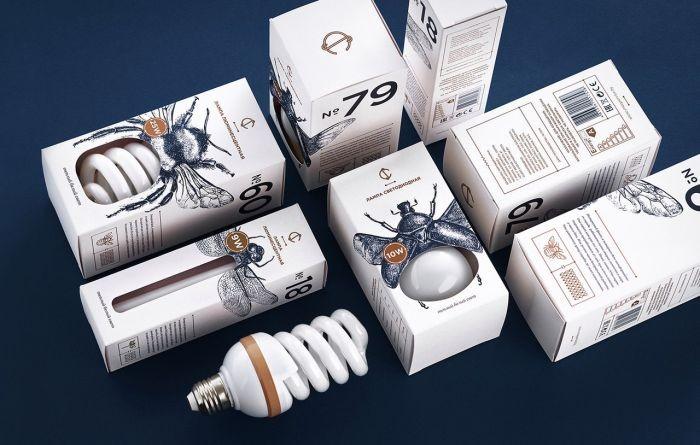 Оригинальная упаковка для лампочек (4 фото)