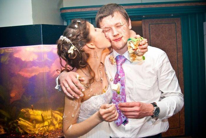 Типичные русские свадьбы в Электроуглях (21 фото)