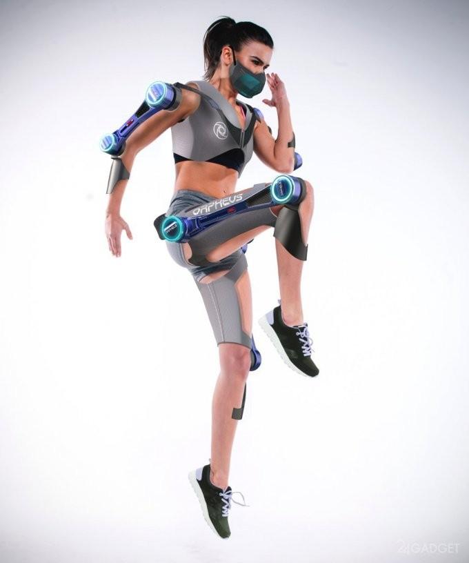Orpheus - экзоскелет для тренировок в невесомости (3 фото)
