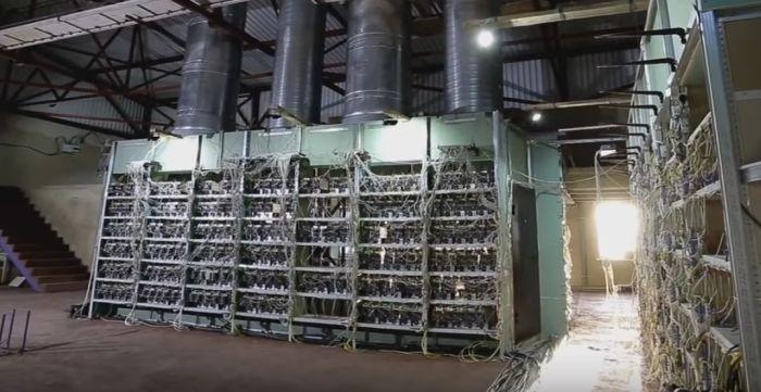 Самая большая российская ферма по добыче криптовалюты (10 фото)