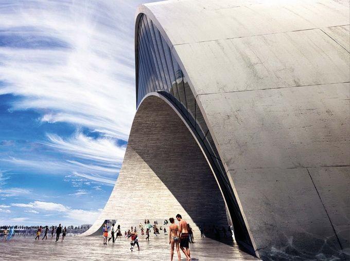 Проект набережной в Санкт-Петербурге (17 фото)