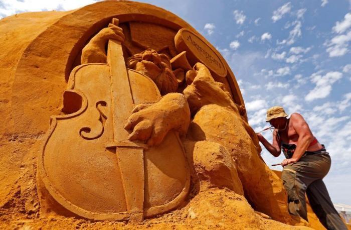 Волшебный песчаный мир Диснея 2017 (17 фото)