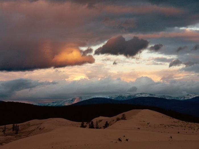 Холодные пески ледника Кодара (12 фото)