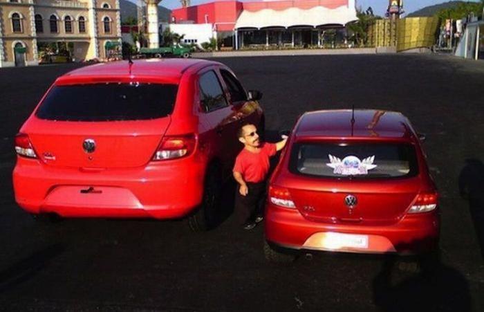 Volkswagen Mini-Gol - авто для маленьких людей (5 фото)