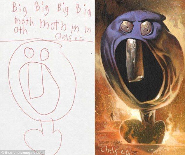 Детские монстры глазами художников (8 фото)