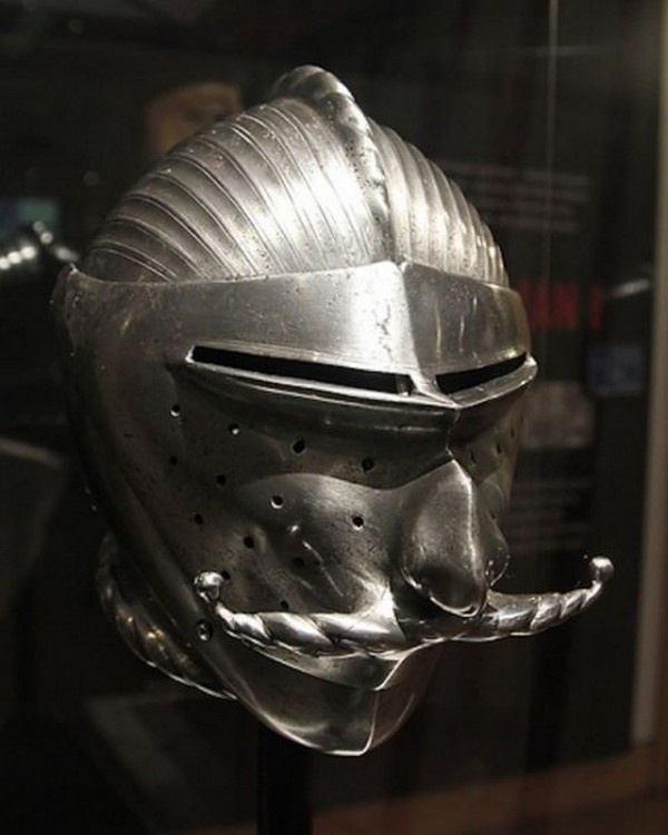 Боевые шлемы эпохи рыцарских турниров (29 фото)
