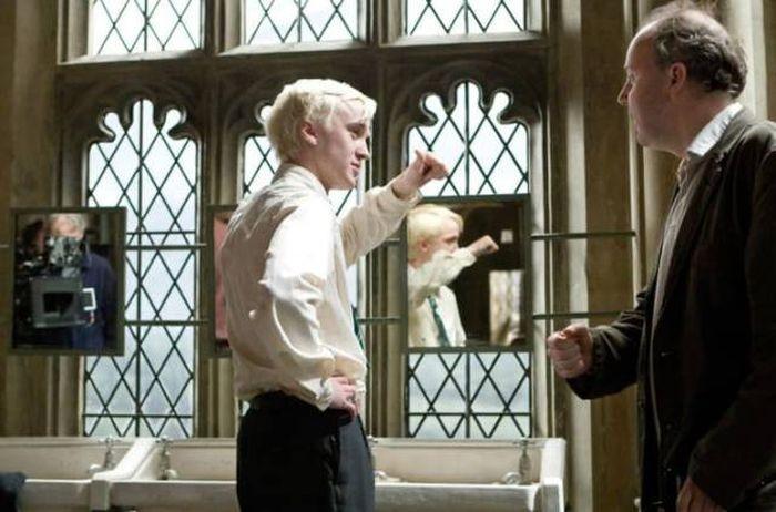 Фото со съемочной площадки «Гарри Поттера» (45 фото)