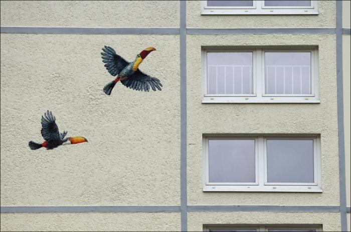 Немецкий дом-раскраска (19 фото)