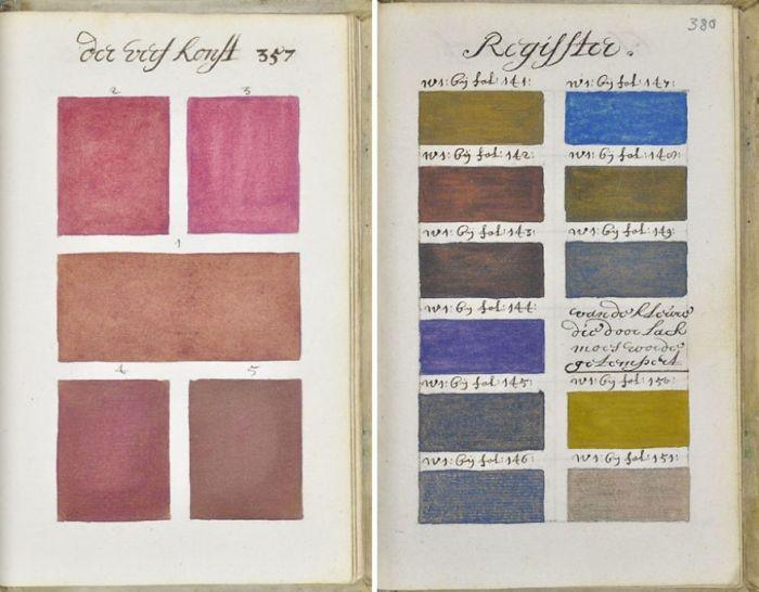 Подробный справочник цветов 1692 года (9 фото)