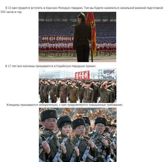 Если ли бы вы родились в Северной Корее (14 фото)
