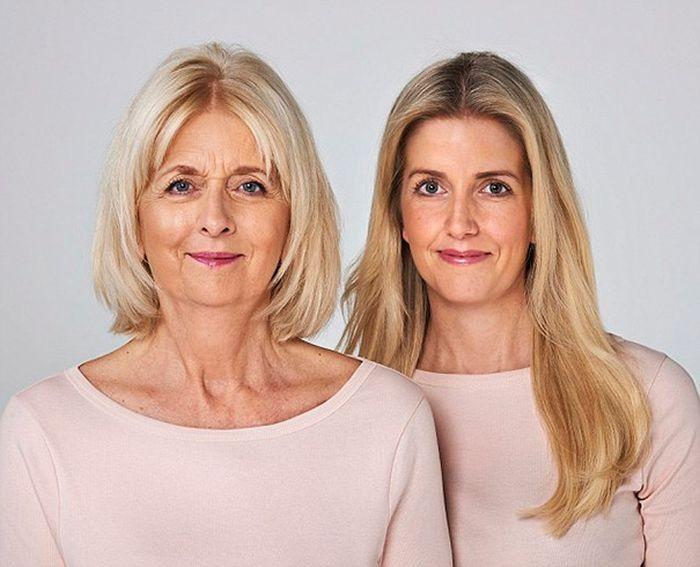 Поразительное сходство мам с дочерьми (10 фото)