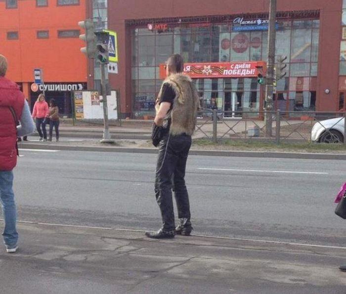 Фото, которые возможно было сделать только в России (36 фото)