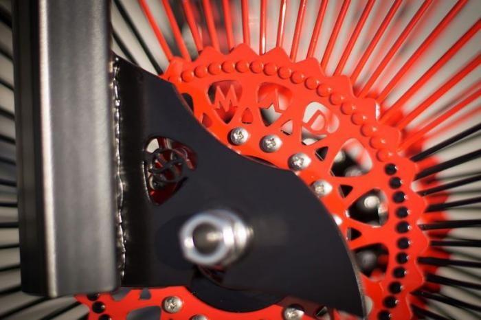 Польский мастер соорудил для Слэша крутой велосипед (12 фото)