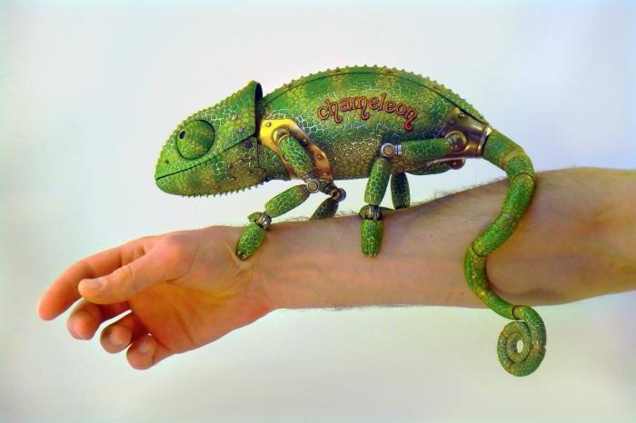 Стимпанк от скульптора Игоря Верного (15 фото)