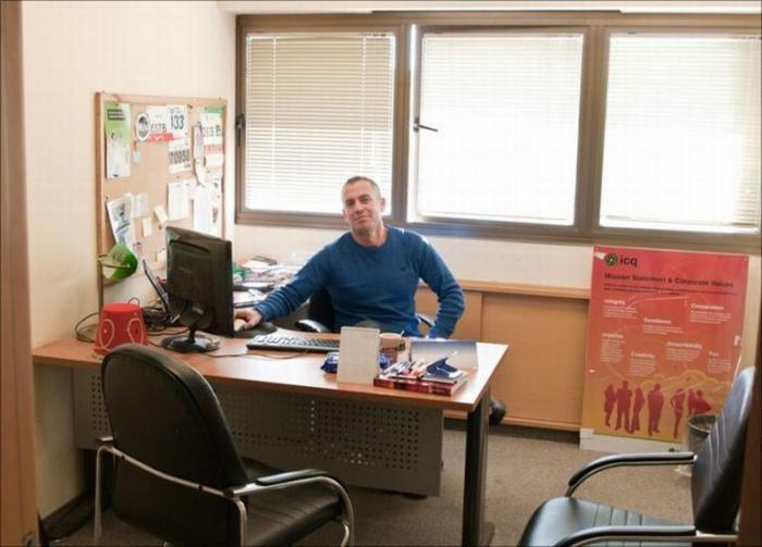 Офис компании ICQ в Тель Авиве (41 фото)