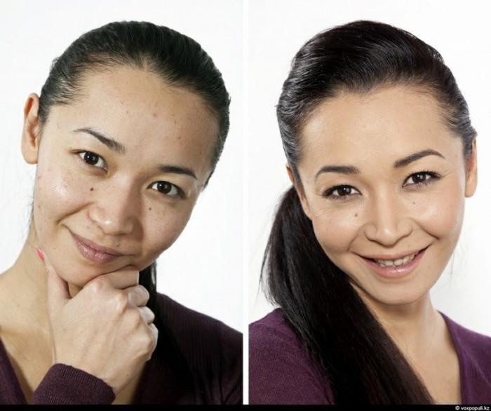 Чудесный макияж (10 фото)