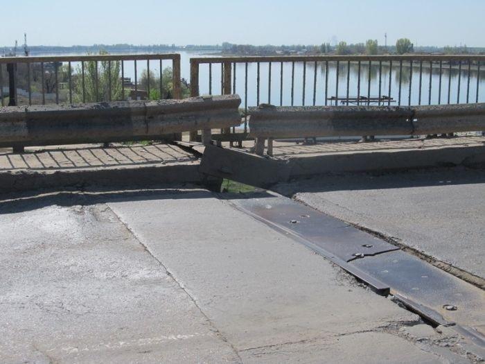 Астраханский мост (7 фото)