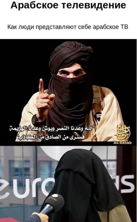 Я теперь буду смотреть только арабское ТВ (3 фото)