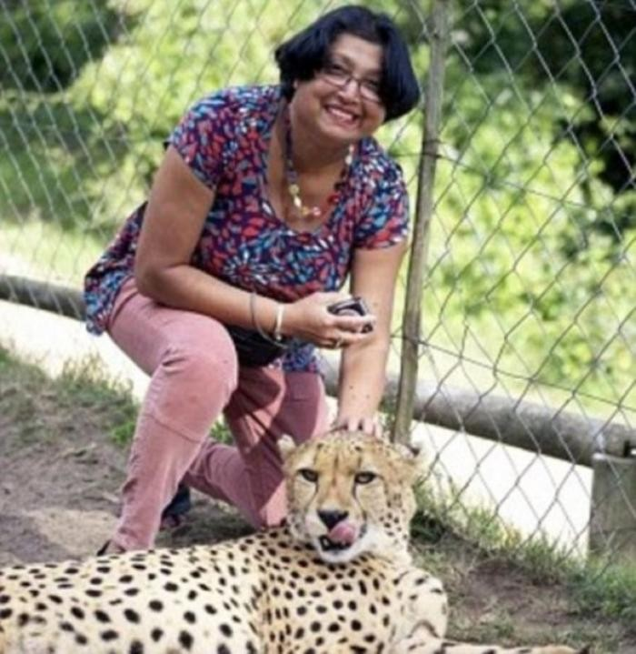 Мужик заснял нападение гепардов на свою жену (9 фото)