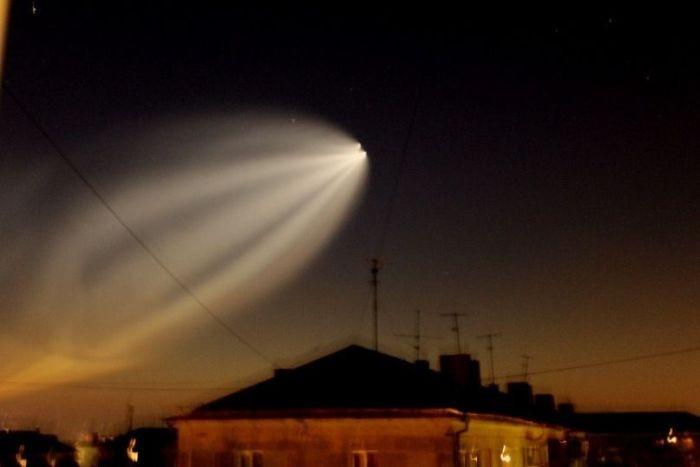 Пуск ракеты Союз (18 фото)