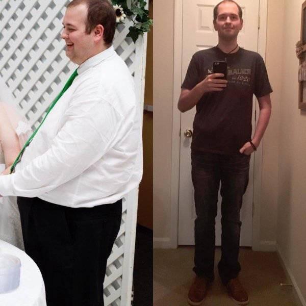 Люди, которым удалось сбросить лишний вес (42 фото)