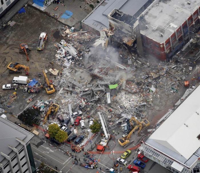 Землетрясение в Новой Зеландии (15 фото)