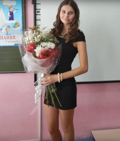 учительница горячие фото