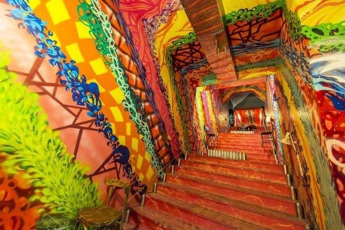 Парижское общежитие- произведений уличного искусства (15 фото)