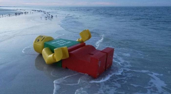 Удивительные находки, обнаруженные на пляжах (10 фото)