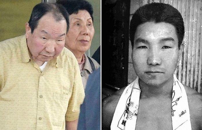 Невиновный японец, отсидевший в тюрьме 46 лет (5 фото)