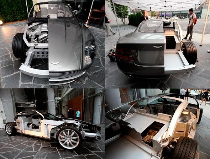 Автомобили в разрезе (20 фото)