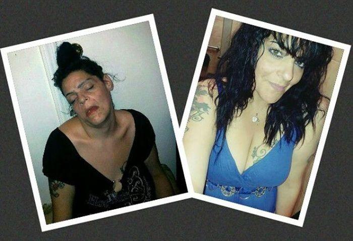 Бывшая наркоманка показала свои фото (7 фото)