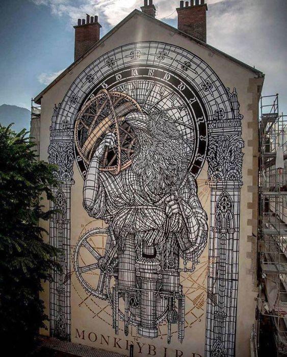 Крутые работы современных уличных художников (20 фото)