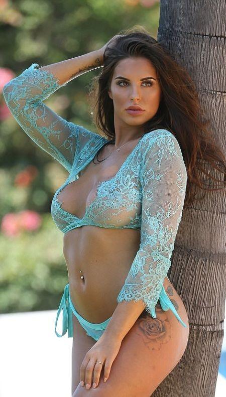 Звезда телешоу Love Island Джессика Ширс снялась в горячей фотосессии на Ибице (13 фото)
