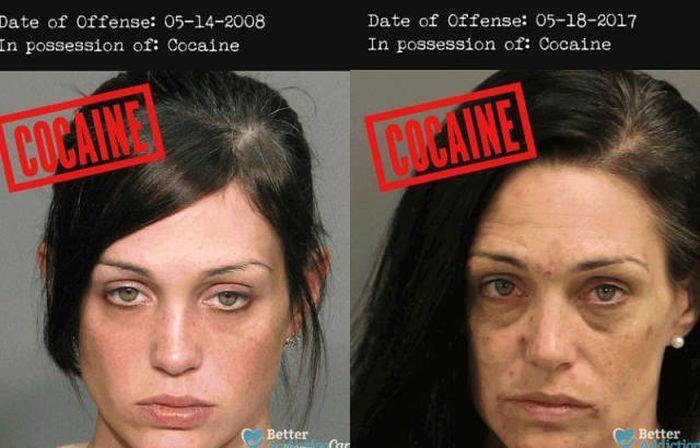 Как тяжелые наркотики меняют людей (7 фото)