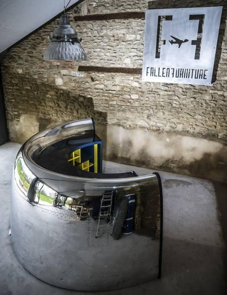 Части самолетов, ставшие предметами мебели (40 фото)